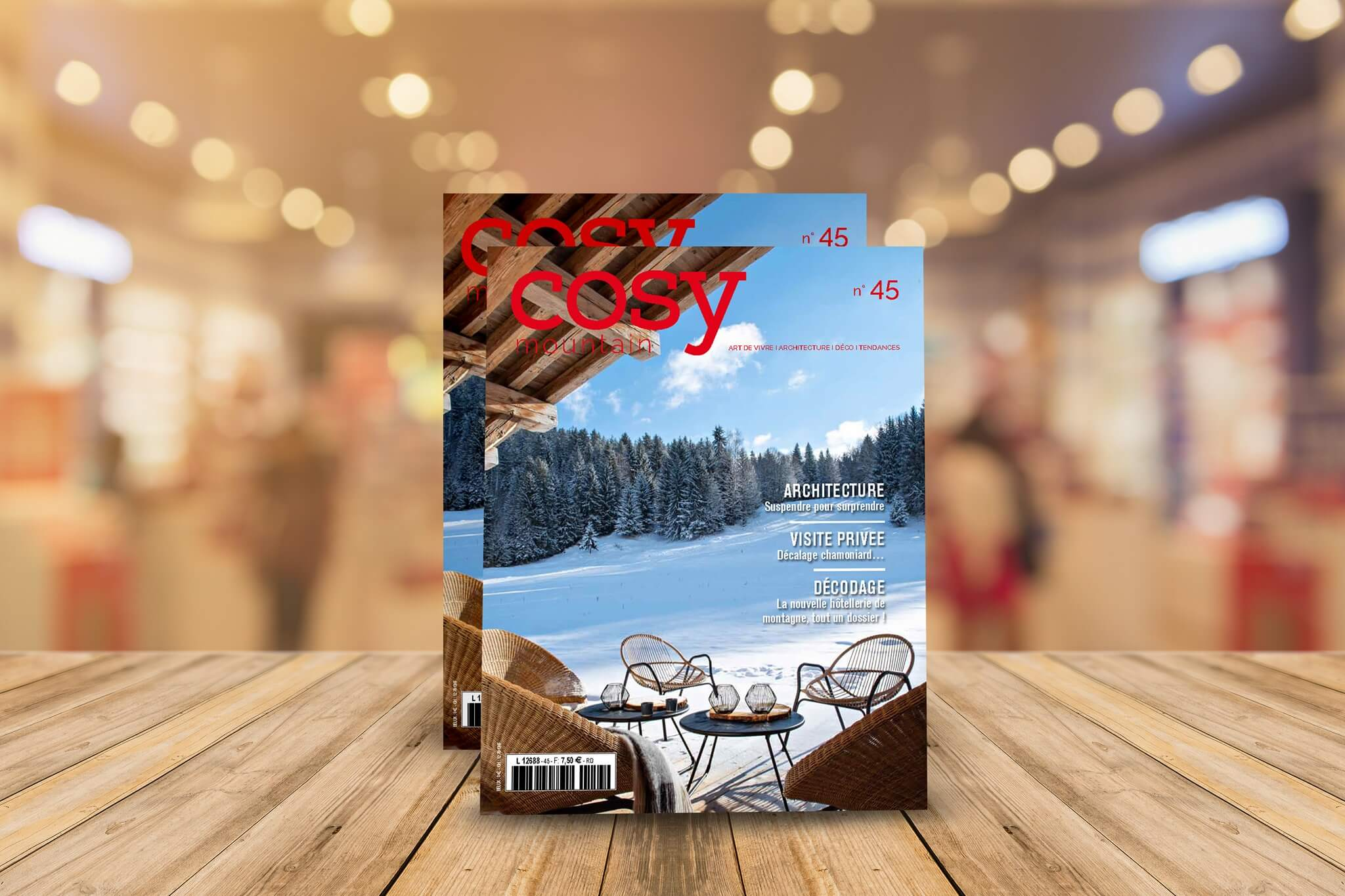 Couverture Cosy Mountain 45
